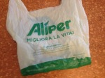 Kompostierbare Plastiktüte