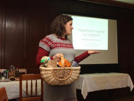 Vortrag Plastikfreier Haushalt (un)möglich
